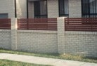 Amaroo ACT Brick fencing 13